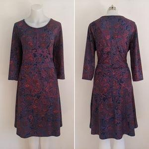 TITLE NINE 3/4 sleeve Dream Dress, L